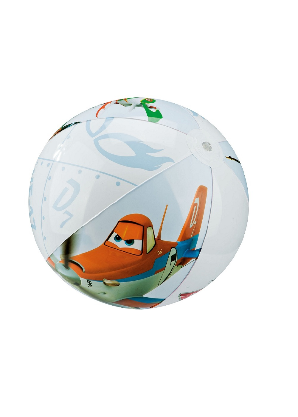 INTEX-PLANES 24 INCH BEACH BALL,Ages 3+,58058NP