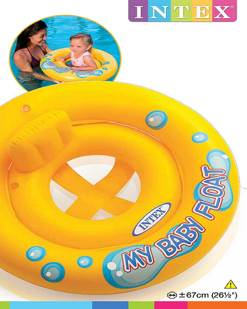 INTEX-26½ INCH  MY BABY FLOATTM, Ages 1-2, Polybag,59574NP